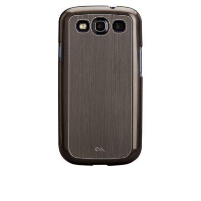 Brushed Aluminum - Silver - Samsung Galaxy S III