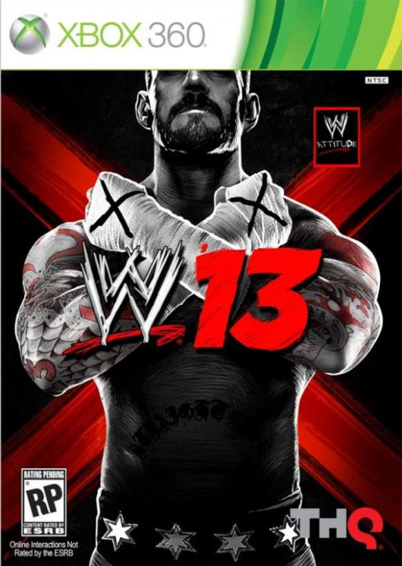 wwe13cover