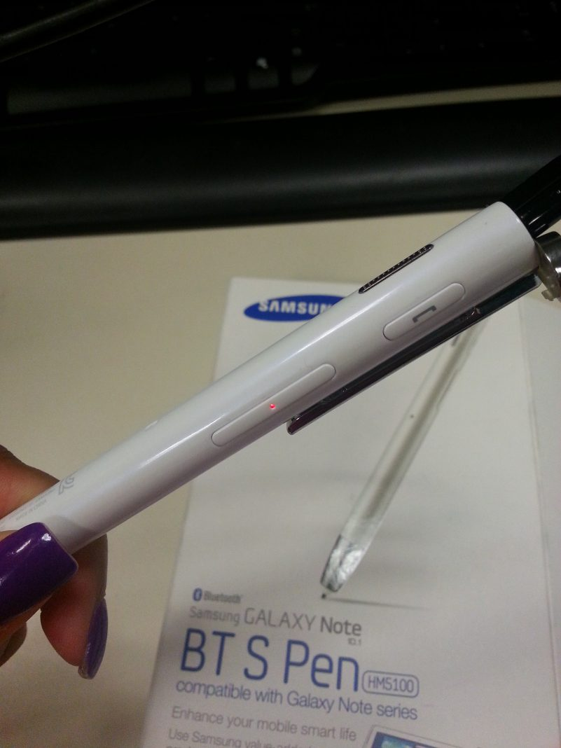 Samsung BT S Pen - Samsung Galaxy Note - Analie Cruz 1