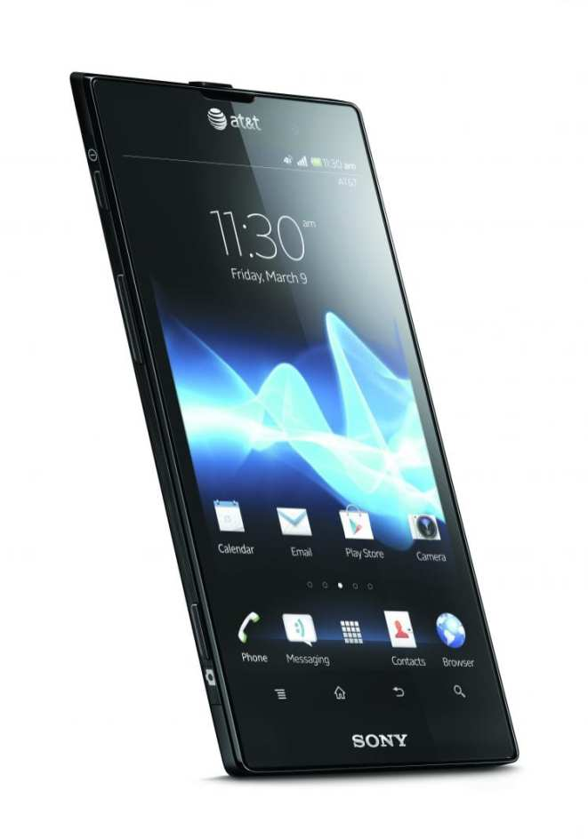 Sony Xperia Ion - Front Angle