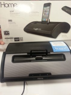iHome iD55 Portable Stereo Speaker System - Cover back