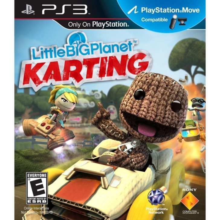 LittleBigPlanet Karting PS3 - Cover