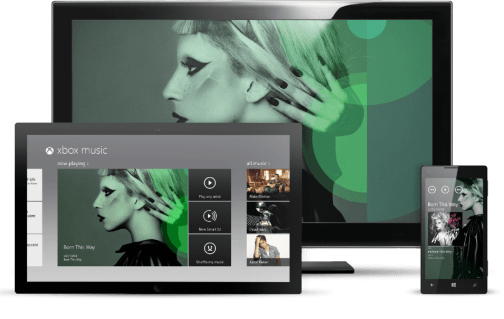Xbox Music - Devices