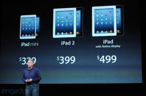 Apple iPad Mini compare