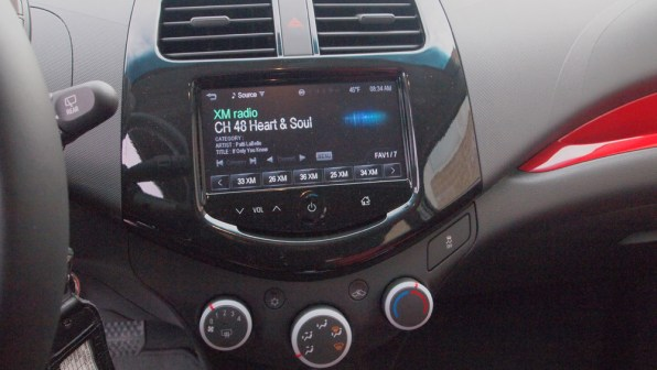 Chevy Spark 2 LT - G Style Magazine - REview - Auto - Car - Interior - RAdio - Screen