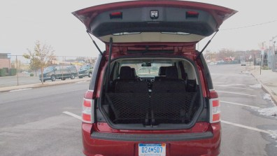 Ford Flex Limited - REview - Car - Auto - G Style magazine - trunk door - space open