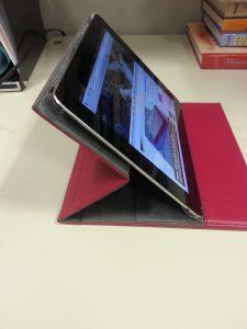 M-Edge Hampton Case -  Landscape Mode (Lower) - Apple iPad - Analie Technology