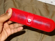 Beats by Dre Pill - Speaker - G Style Magazine Review - Bluetooth Wireless Speaker 1