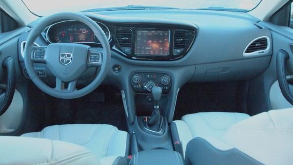 2013 Dodge Dart Limited - Interior Dashboard - Steering Wheel Shifter - G Style Magazine