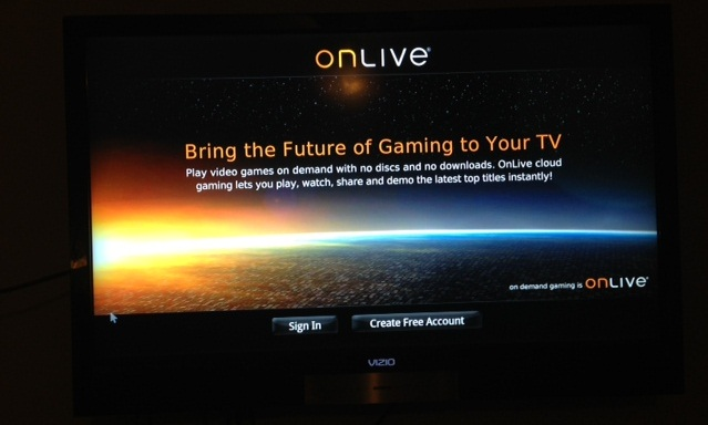 Vizio Co-Star Google TV - Device TV Streamer search - OnLive Gaming 2