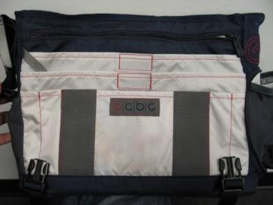 ECBC Bag - open flap