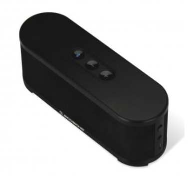 Scosche BoomSTREAM Bluetooth Speaker Review - Top View - G Style Magazine