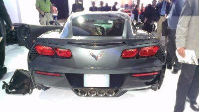 New York International Auto Show - G Style Magazine - Corvette Stingray Rear