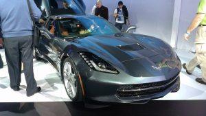 New York International Auto Show - G Style Magazine - Corvette Stingray