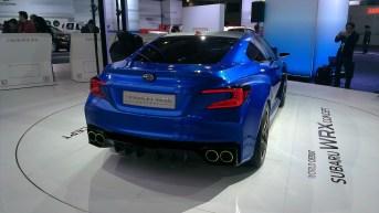 New York International Auto Show - G Style Magazine - Subaru WRX Concept Car - Rear Exterior - Headlights