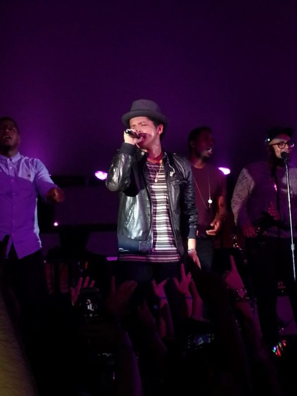 Samsung Experience Shops at Best Buy Launch Galaxy S4 - Bruno Mars