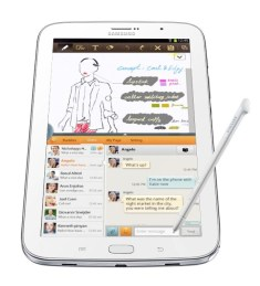 Samsung Galaxy Note 8.0 Tablet - Analie Cruz - G Style Magazine - @YummyANA Vertical