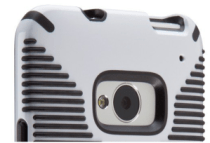 Speck CandyShell Grip for HTC One - Camera Border White - Analie