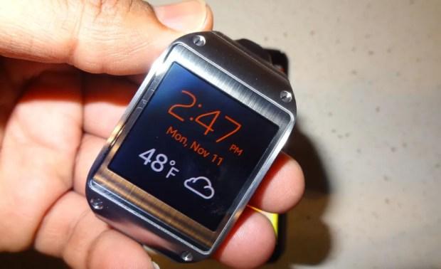 Samsung Galaxy Gear Watch Faces