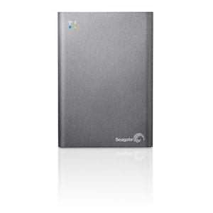 Seagate Wireless - SEAGATE WIRELESS PLUS 1 TB MOBILE DEVICE STORAGE WITH BUILT-IN WI-FI STREAMING