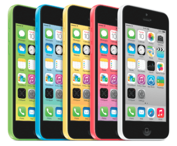 Top Smartphones to Shop For [Holiday Gift Guide 2013] - Apple iPhone 5C