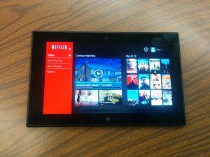 Nokia Lumia 2520 : Windows 8 Tablet Review - Netflix