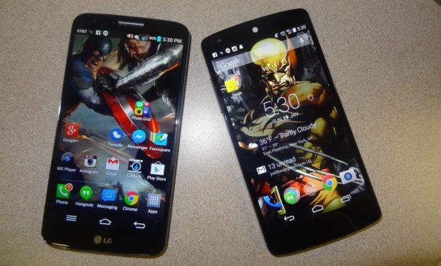 LG G2 Vs. Google Nexus 5 (2)