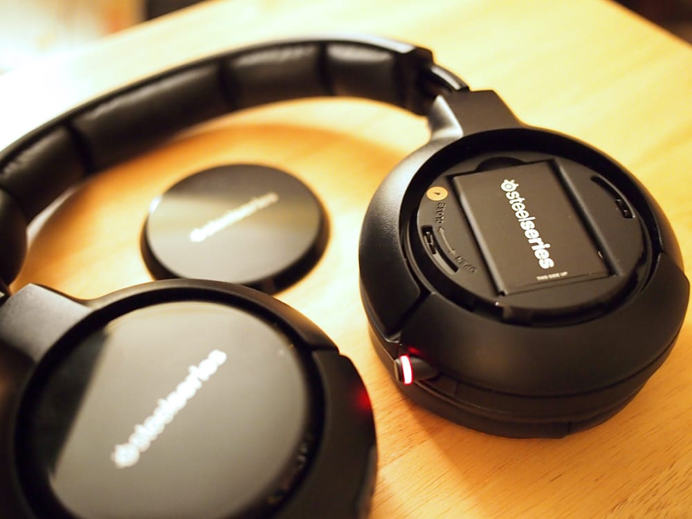 SteelSeries H Wireless 7.1 Surround Sound Gaming Headset Review - Battery - G Style Magazine
