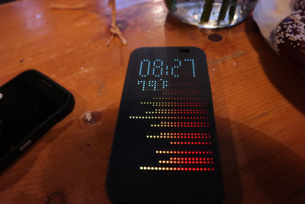 HTC One M8 Dot View Case Updated