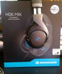 Sennheiser HD6 MIX Headphones - Box
