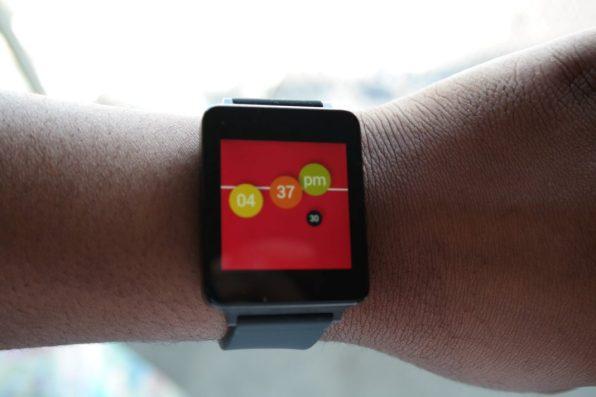 LG G Watch Convergence Watch Face 2