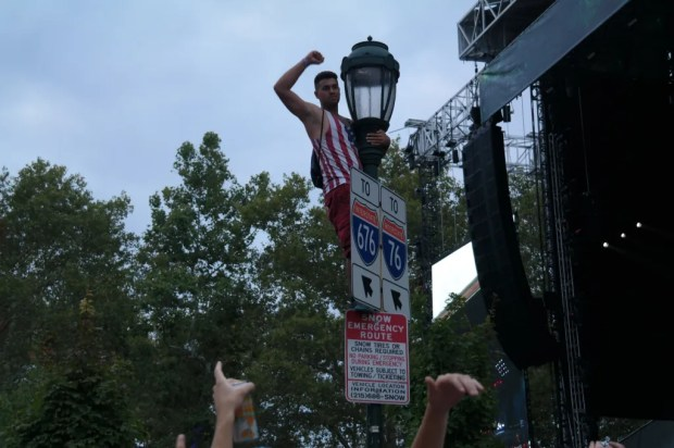 Made in America Sign Guy