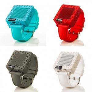 Stocking Stuffers - BEM Wireless Speaker Wristband 4 Colors