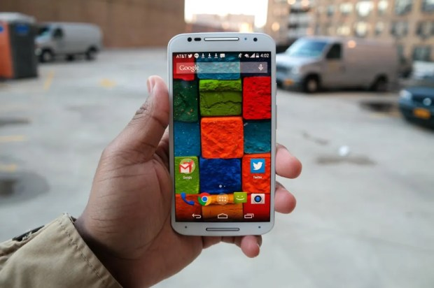 Moto X Display