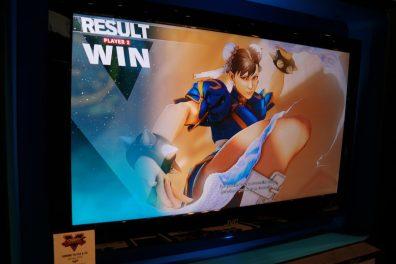Street Fighter V E3 Win Screen