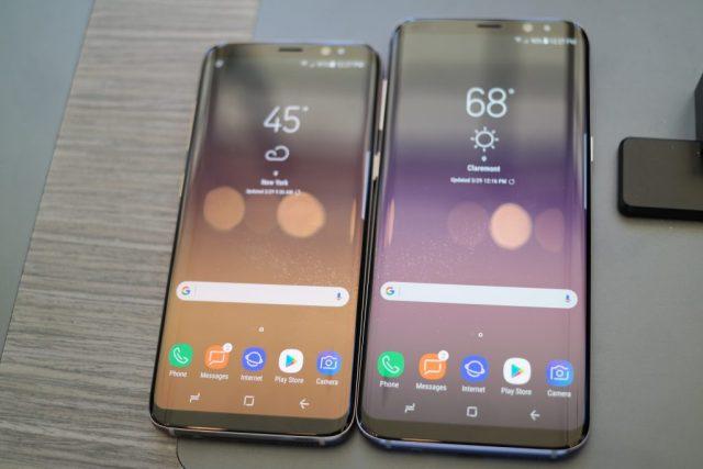 Samsung Galaxy S8 , S8 Plus
