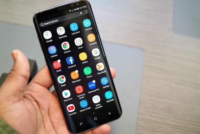 Samsung Galaxy S8 Menu