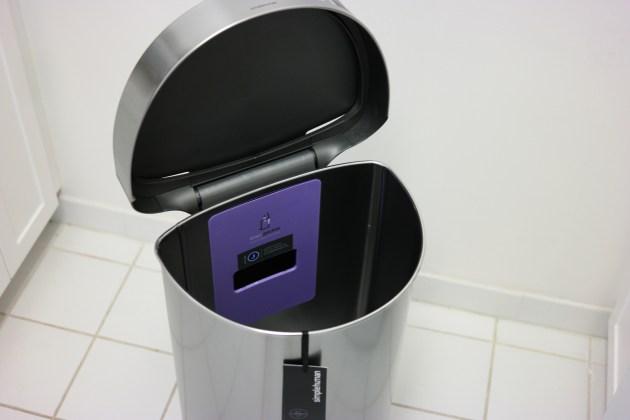 SimpleHuman Sensor Can Open