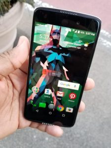 Alcatel Idol 5 In Hand
