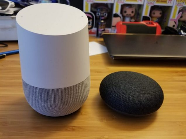 Google Home vs Google Home Mini