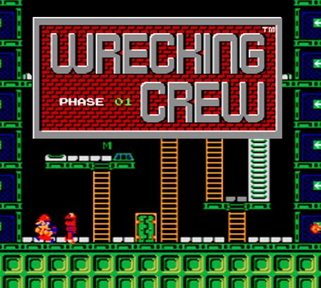 Mario Wrecking Crew