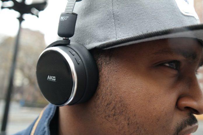AKG NC60 Wireless Buttons