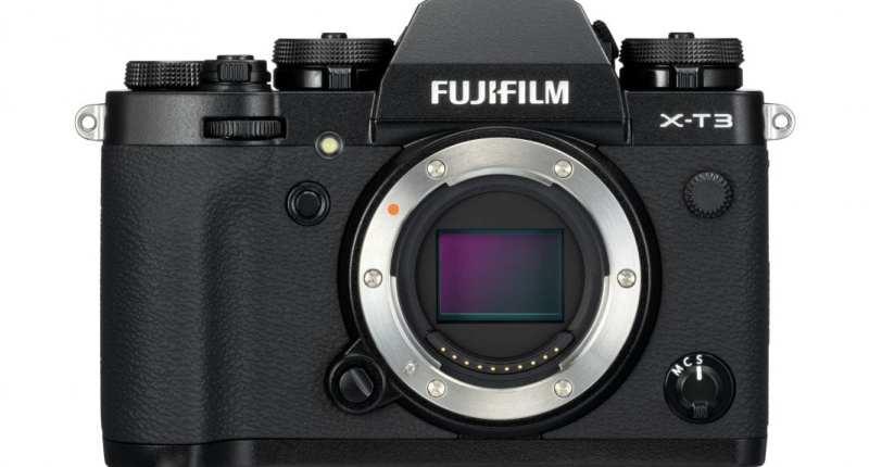First Look: FujiFilm X-T3