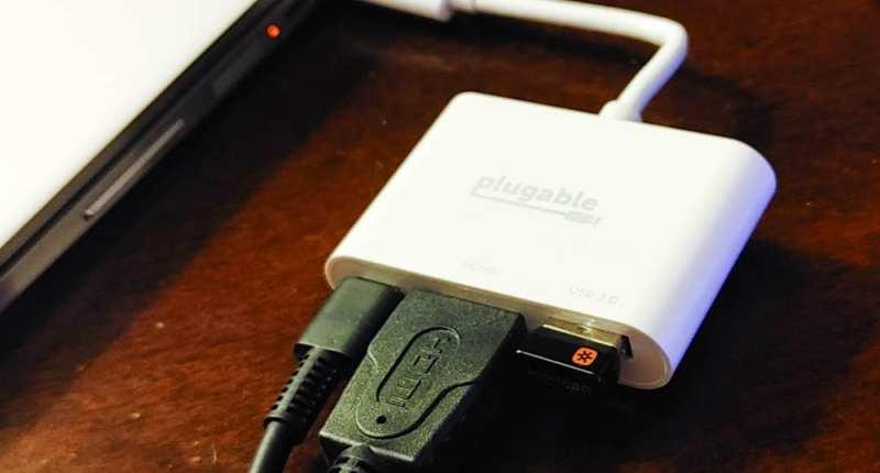 Plugable USB-C Multiport Adapter