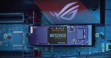 WD_BLACK SN750 SE NVMe SSD Battlefield 2042