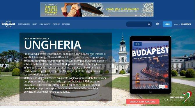 Magyarországot népszerűsíti a Lonely Planet Italia