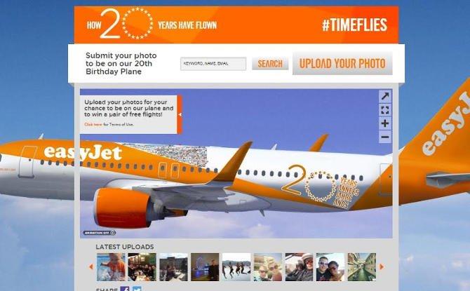 Talán az Ön képe díszíti az easyJet repülőgépét