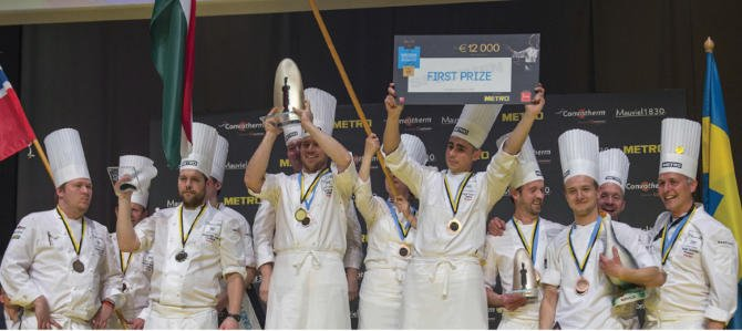 Széll Tamás a Bocuse d'Or Europe döntőjének győztese!