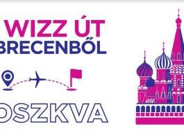 Wizz Air Debrecen-Moszkva