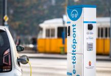 elektromos autó töltőpont